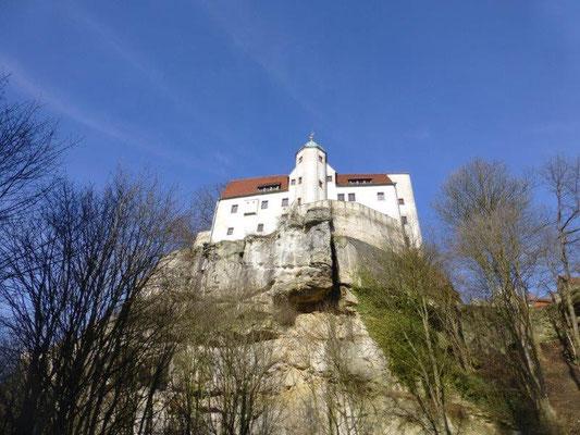 Die Burg Hohnstein