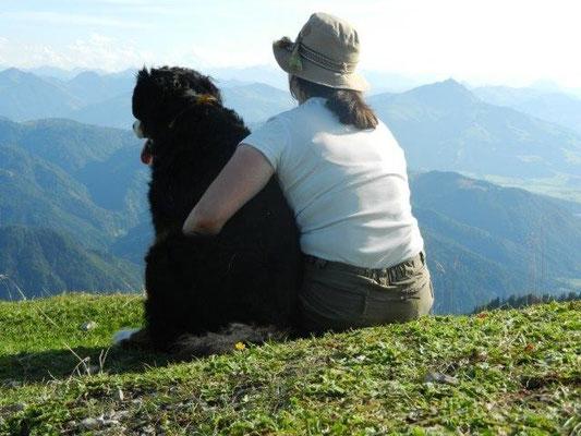 Gemeinsames Gipfelglück auf dem Fellhorn