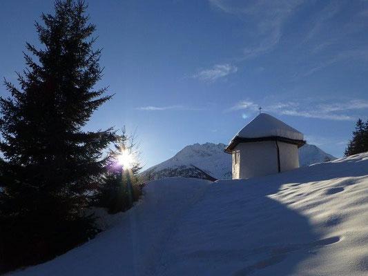 Die letzten Sonnenstrahlen des Jahres 2012