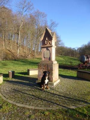 Das Harras-Denkmal in Braunsdorf