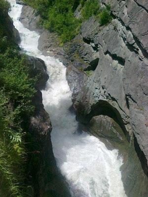 Am Wasserschaupfad Umbalfälle