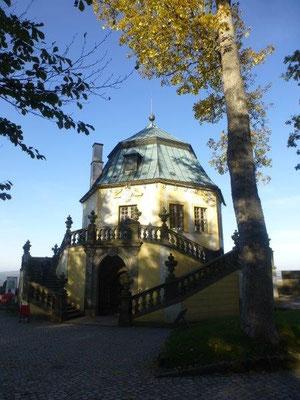 Pavillon auf der Festung Königstein