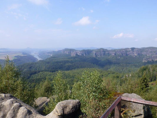 Einzigartiges Panorama an der Kipphornaussicht