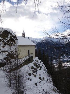 Die Allerheiligenkapelle bei Virgen