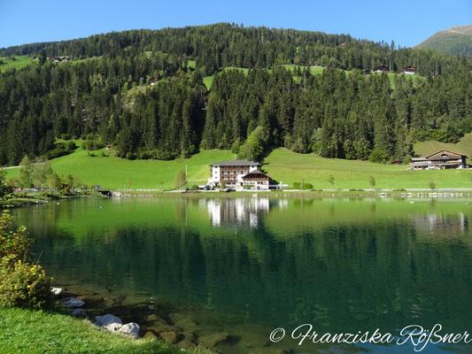Unsere Unterkunft - das Hotel am See in Mühlwald