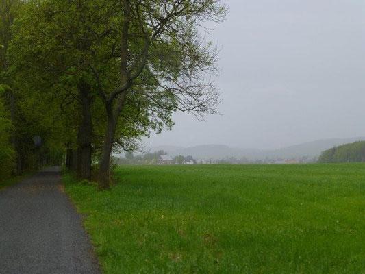 Sommerregen über Rosenthal