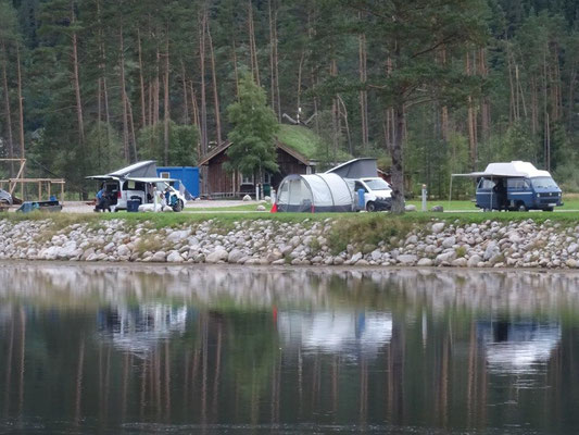 Helle Camping im Setesdal