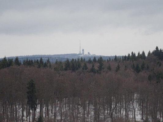Blick zum Großen Inselsberg