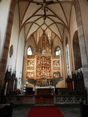 In der Kirche von Niederlana