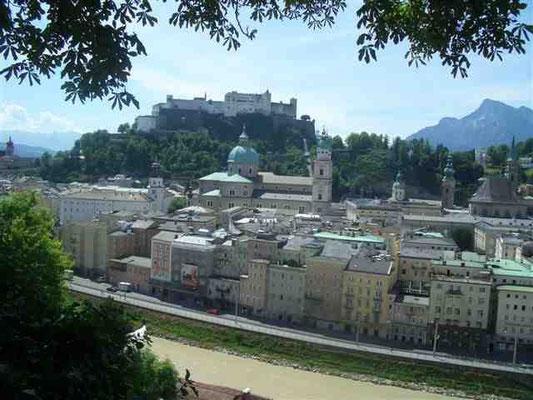 Stadtbummel durch Salzburg