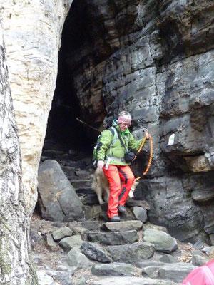 Ausstieg aus der Felsengasse