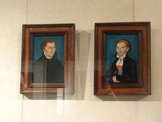 Martin Luther und seine Frau Katharina von Bora