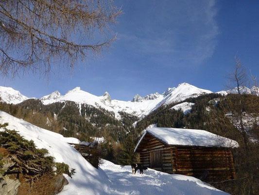 Aufstieg zur Nilljochhütte
