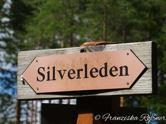 Auf dem Silverleden bei Hällefors