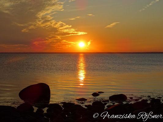 Sonnenaufgang am Kattegat bei Båstad