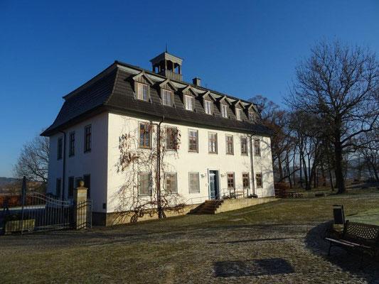 Das barocke Gutshaus des Stiftsgutes Hohenglücksbrunn