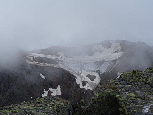 Hasenohr-Ferner - noch ist der Gletscher da.