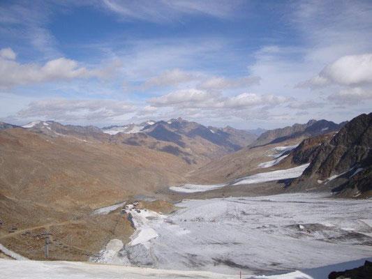 Der Schnalstaler Gletscher