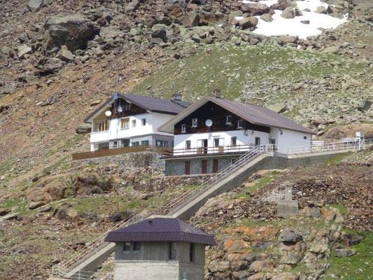 Die Höchster Hütte am Grünsee