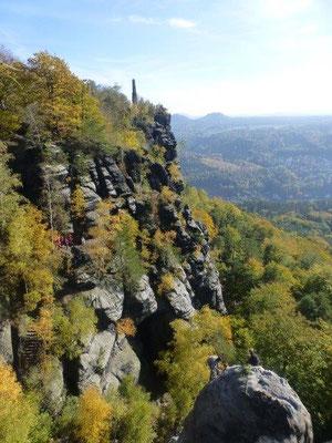 Herbst am Lilienstein