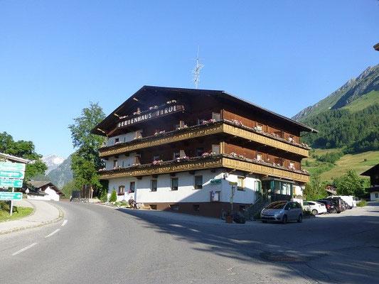Unser Domizil für eine Woche - das Ferienhaus Tirol in Prägraten