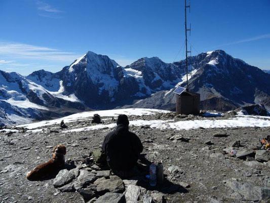 Auf der Hinteren Schöntaufspitze (3325 m)