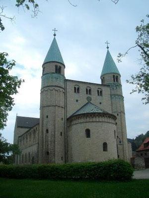 Romanische Stiftskirche St. Cyriakus in Gernrode