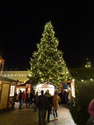 Auf dem Annaberger Weihnachtsmarkt
