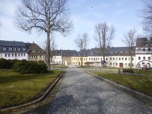Marktplatz von Scheibenberg