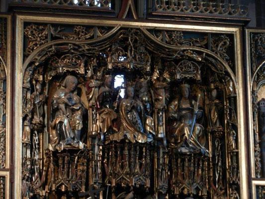 Schnatterpeck-Altar in der Pfarrkirche Mariä Himmelfahrt in Niederlana