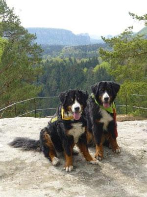 Gusti und Vreni auf dem Arnstein