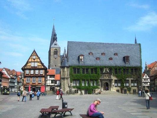 Der Markz in Quedlinburg