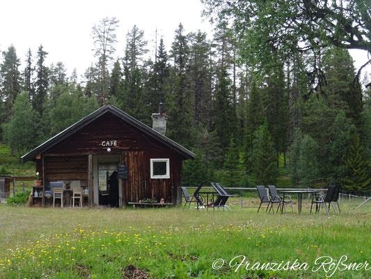 Alpaka-Ranch in Grövelsjön