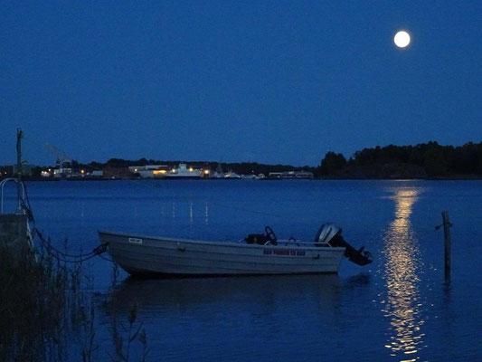 Mondnacht bei Horten