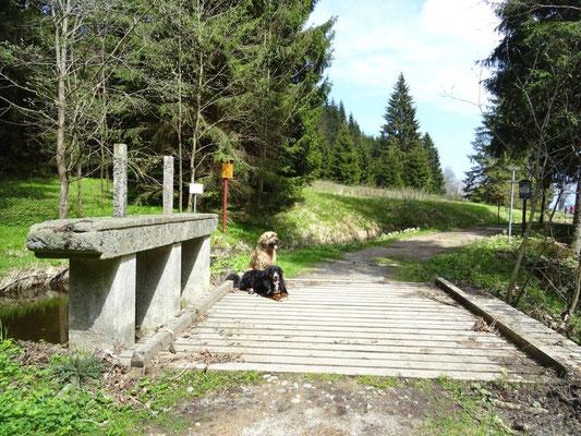Schleuse am Schwarzenbergischen Schwemmkanal