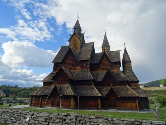 Stabkirche in Heddal