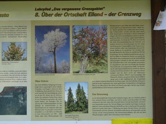 Ein Lehrpfad erzählt über die Natur, Geschichte und Kultur im Sächsisch-Böhmischen Grenzgebiet