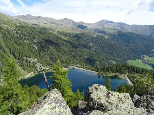 Blick zum Weißbrunner See