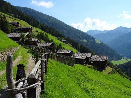 Die Pilshöfe zählen zu den ältesten Bauernhäusern im Ultental