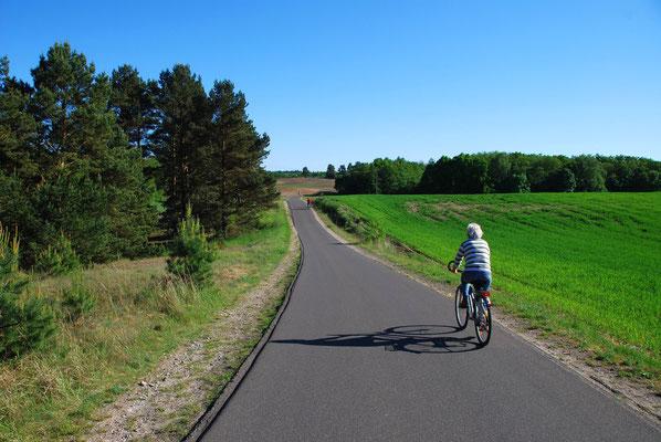 Perfekte Radwege in und um den Nationalpark