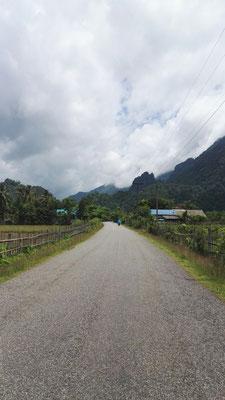 In den Bergen von Vangvieng