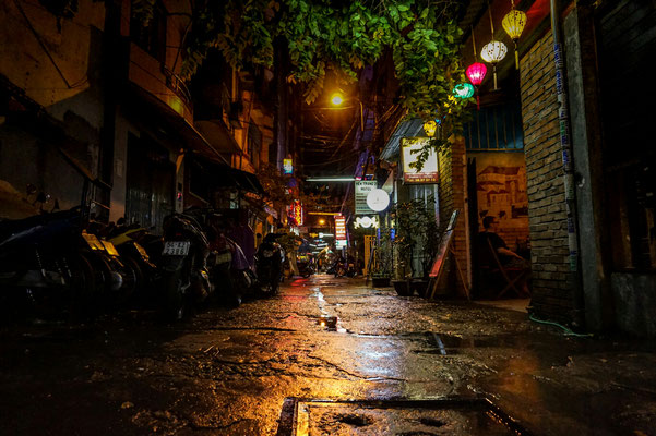 Nach dem Regen in Ho Chi Minh