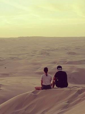 Sand über Sand