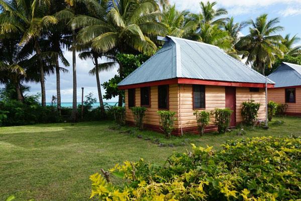 Die Hütte von außen