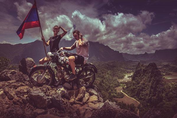 Wir und das Moped