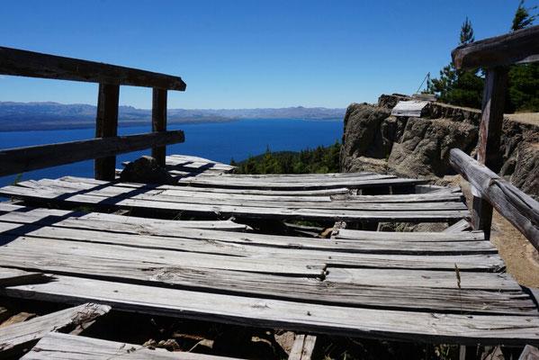 Eine Brücke in Bariloche