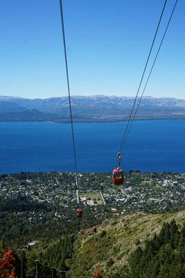 Seilbahn in Bariloche zum Cerro-Otto