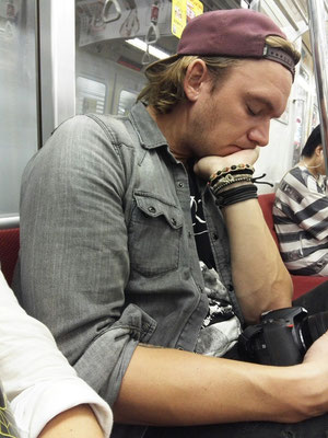 Mario müde, Mario schlafen
