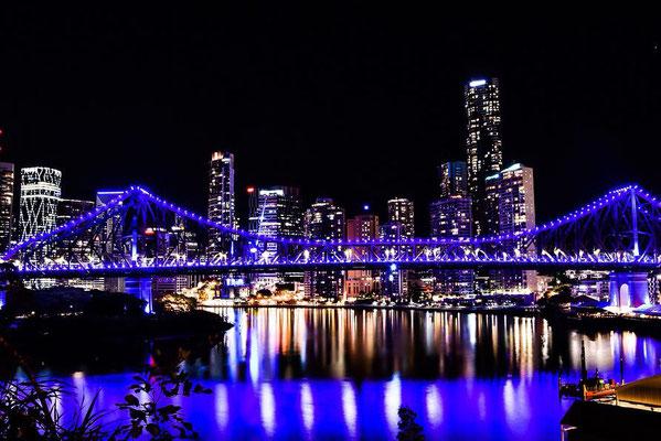 Die Story Bridge in Brisbane