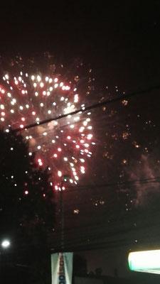 Feuerwerk Osorno